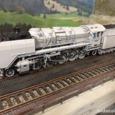 Trenes Escala: ROCO 69242 LOCOMOTORA VAPOR BR44 AC-DIGITAL EN FRAC FOTOGRAFICO. Lote 204255207