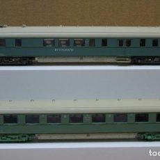 Trenes Escala: ROCO H0 COCHE DE VIAJEROS Y COCHE RESTAURANTE *PLAN D*, DE LA NS, REFERENCIAS 44283 Y 44290.. Lote 204621566