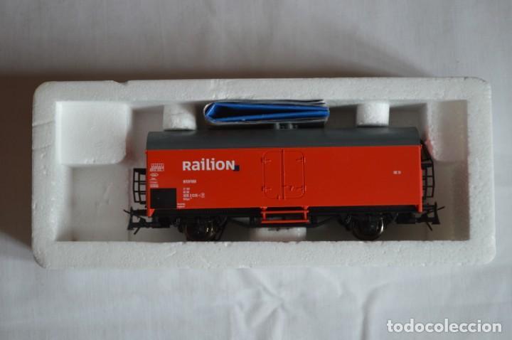Trenes Escala: Vagón mercancías interfrigo Railion. Esc. H0. Roco. romanjuguetesymas. - Foto 11 - 204686446