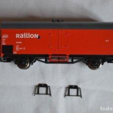 Trenes Escala: VAGÓN MERCANCÍAS INTERFRIGO RAILION. ESC. H0. ROCO. ROMANJUGUETESYMAS.. Lote 204686446