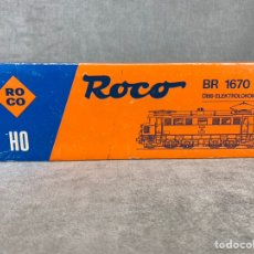 Trenes Escala: LOCOMOTORA ROCO - REF: 04148 A - BR 1670 - H0 -. Lote 205074890