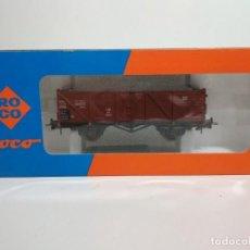 Trenes Escala: VAGÓN BORDES ALTO DE ROCO 46039 H0 ¡NUEVO!. Lote 205667142