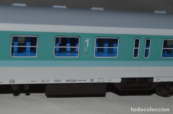 Trenes Escala: Vagón de pasajeros de 1ª y 2ª clase de la DB. Esc. H0. Roco. romanjuguetesymas. - Foto 5 - 205713583