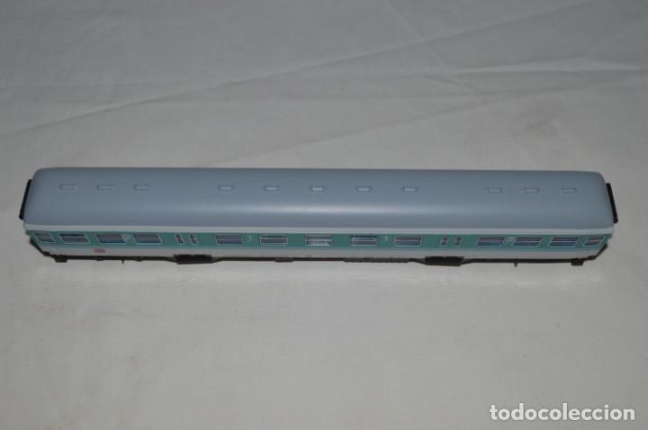 Trenes Escala: Vagón de pasajeros de 1ª y 2ª clase de la DB. Esc. H0. Roco. romanjuguetesymas. - Foto 6 - 205713583