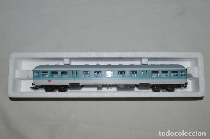 Trenes Escala: Vagón de pasajeros de 1ª y 2ª clase de la DB. Esc. H0. Roco. romanjuguetesymas. - Foto 11 - 205713583
