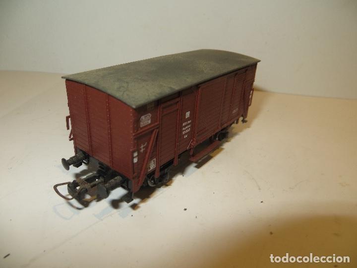 Trenes Escala: ROCO VAGON CARGA CERRADO BUEN ESTADO,BARATO - Foto 2 - 206767716