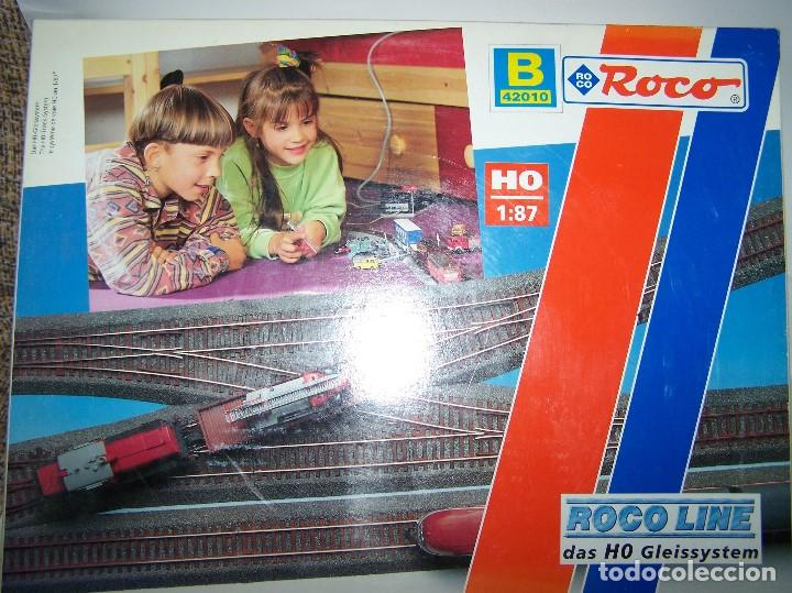 ROCO LINE. SET DE VIAS AMPLIACIÓN B ESCALA H0 1/87. (Juguetes - Trenes a Escala H0 - Roco H0)