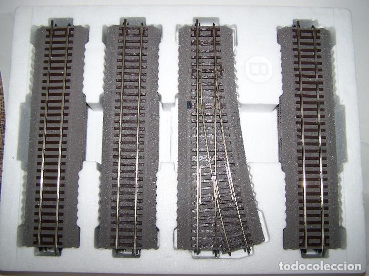 Trenes Escala: ROCO LINE. SET DE VIAS AMPLIACIÓN B ESCALA H0 1/87. - Foto 2 - 206800892
