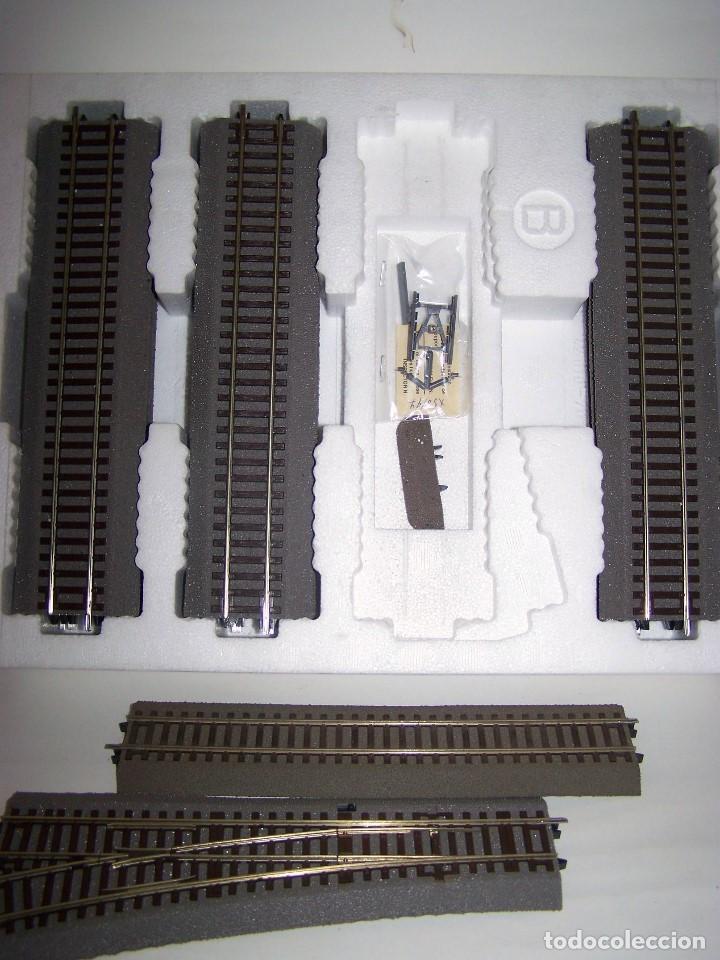 Trenes Escala: ROCO LINE. SET DE VIAS AMPLIACIÓN B ESCALA H0 1/87. - Foto 3 - 206800892