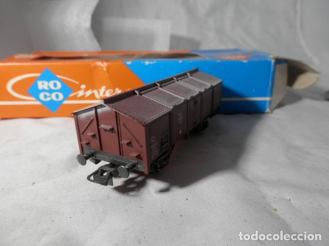 Trenes Escala: VAGÓN BORDE ALTO ESCALA HO DE ROCO - Foto 5 - 206905770