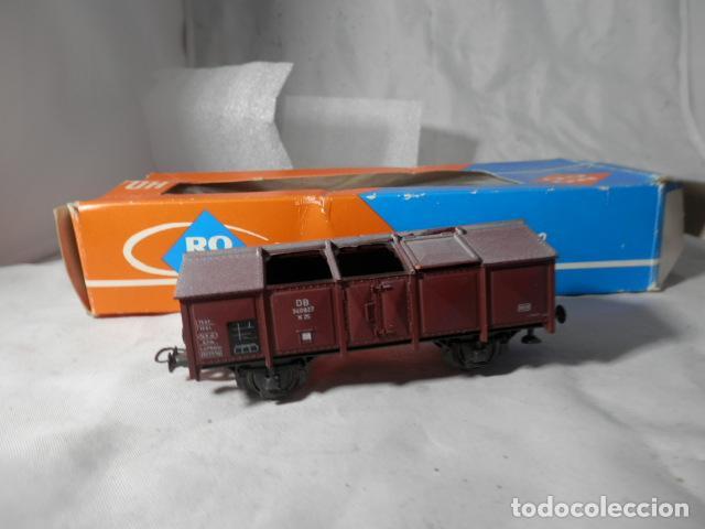VAGÓN BORDE ALTO ESCALA HO DE ROCO (Juguetes - Trenes a Escala H0 - Roco H0)