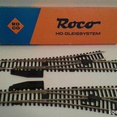 Comboios Escala: ROCO VIAS 1 X DERECHA 1 X RAMA IZQUIERDA. LONGITUD 23 CM ( LOT 1 ). Lote 207804465