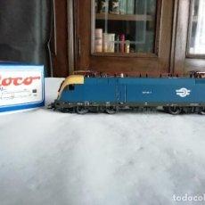 Trenes Escala: ROCO H0 63679 LOCOMOTORA ELÉCTRICA 1047 001-1 MAV HÚNGARA DIGITAL NUEVA. Lote 208420582