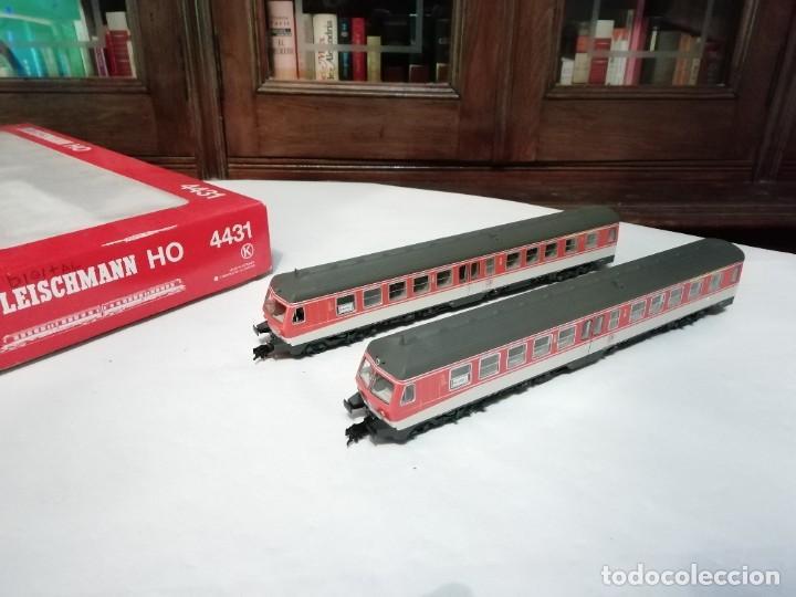 FLEISCHMANN H0 4431 AUTOMOTOR DIÉSEL BR 614 012-3 DB DIGITAL NUEVO (Juguetes - Trenes a Escala H0 - Roco H0)