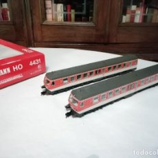 Trenes Escala: FLEISCHMANN H0 4431 AUTOMOTOR DIÉSEL BR 614 012-3 DB DIGITAL NUEVO. Lote 208428341