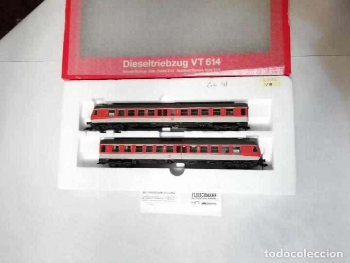Trenes Escala: Fleischmann H0 4431 Automotor Diésel BR 614 012-3 DB Digital Nuevo - Foto 2 - 208428341