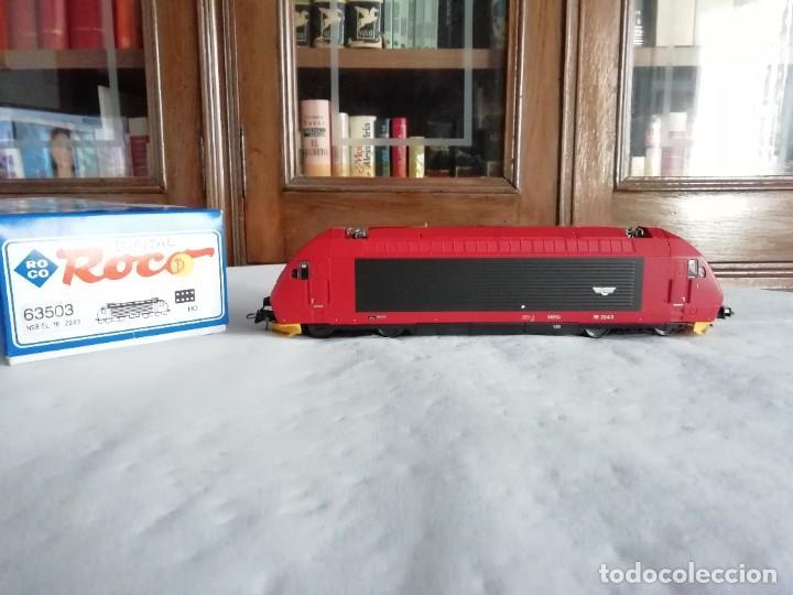 ROCO H0 63503 LOCOMOTORA ELÉCTRICA EL 18 2243 NSB DIGITAL NUEVA (Juguetes - Trenes a Escala H0 - Roco H0)