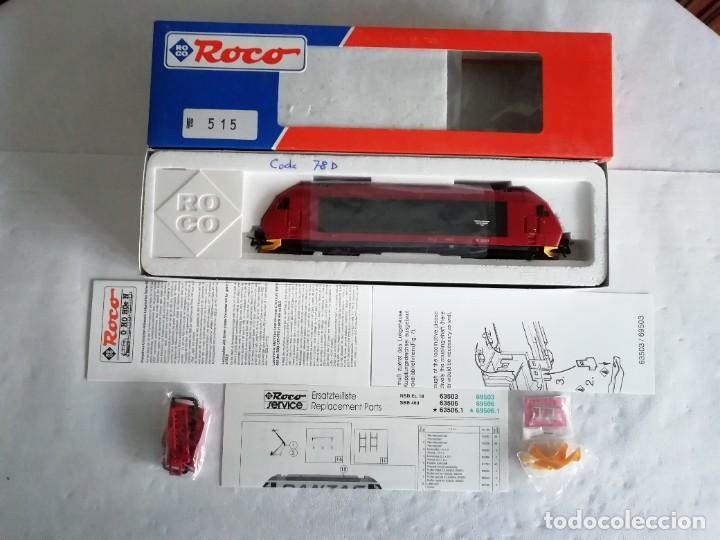 Trenes Escala: Roco H0 63503 Locomotora Eléctrica EL 18 2243 NSB Digital Nueva - Foto 2 - 208481053
