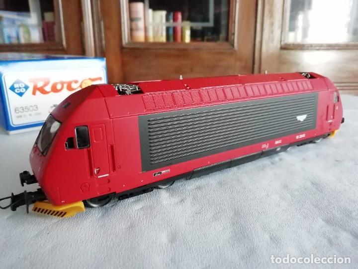 Trenes Escala: Roco H0 63503 Locomotora Eléctrica EL 18 2243 NSB Digital Nueva - Foto 5 - 208481053
