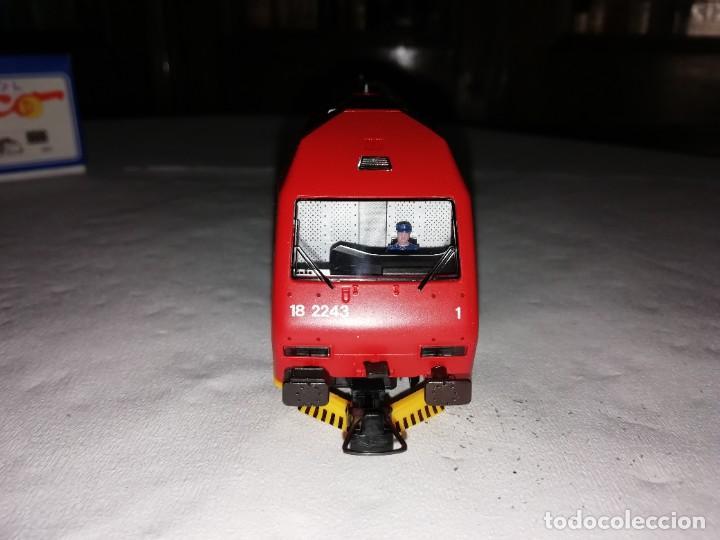 Trenes Escala: Roco H0 63503 Locomotora Eléctrica EL 18 2243 NSB Digital Nueva - Foto 6 - 208481053