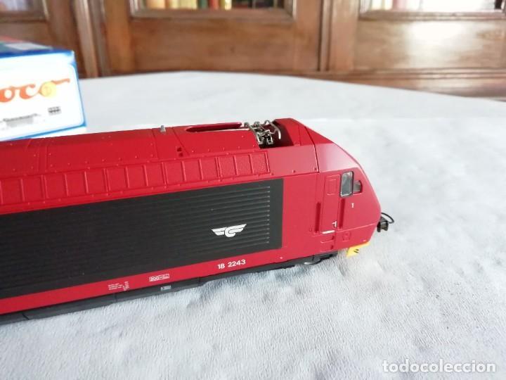 Trenes Escala: Roco H0 63503 Locomotora Eléctrica EL 18 2243 NSB Digital Nueva - Foto 7 - 208481053