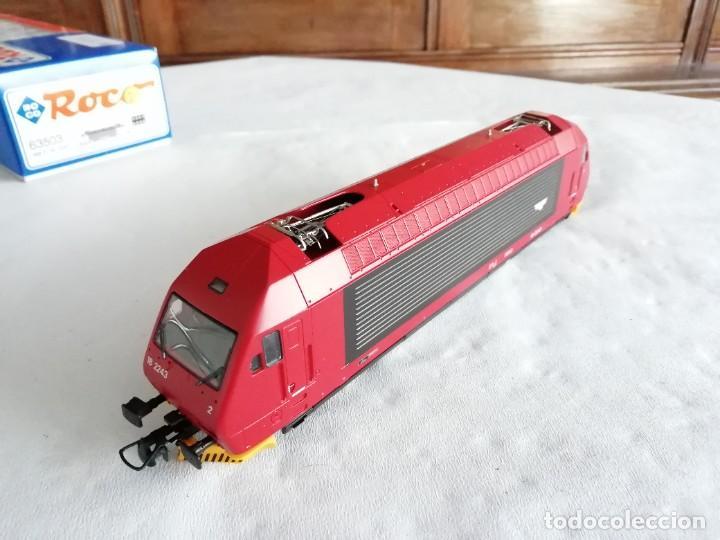 Trenes Escala: Roco H0 63503 Locomotora Eléctrica EL 18 2243 NSB Digital Nueva - Foto 8 - 208481053