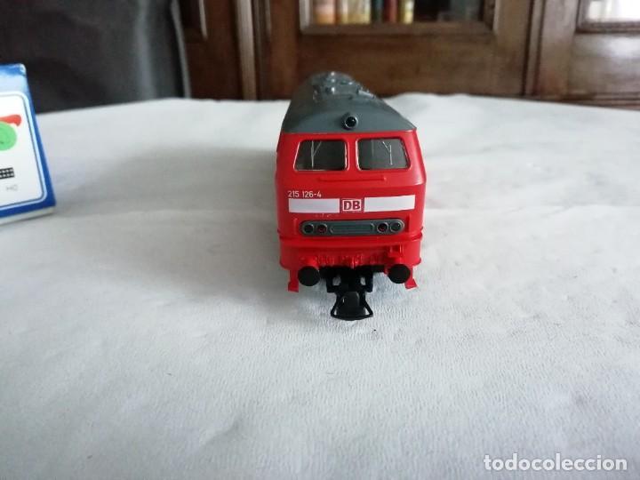 Trenes Escala: Roco H0 63490 Locomotora Diésel BR 215 126-4 DB AG Alemana Digital Nueva - Foto 3 - 208481851