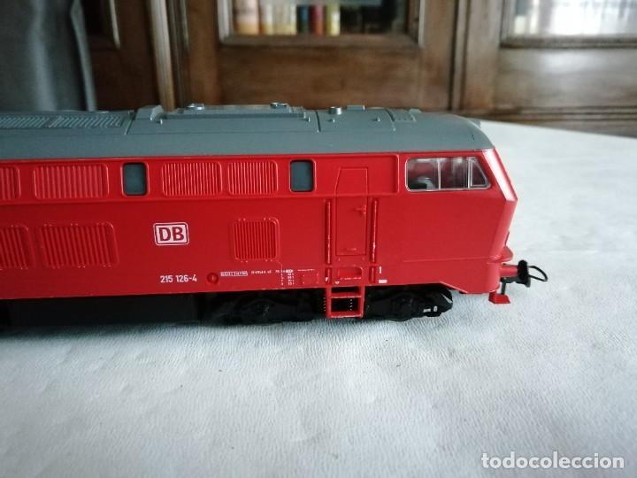 Trenes Escala: Roco H0 63490 Locomotora Diésel BR 215 126-4 DB AG Alemana Digital Nueva - Foto 4 - 208481851