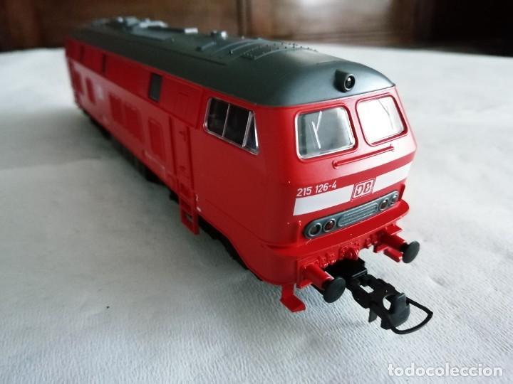 Trenes Escala: Roco H0 63490 Locomotora Diésel BR 215 126-4 DB AG Alemana Digital Nueva - Foto 6 - 208481851