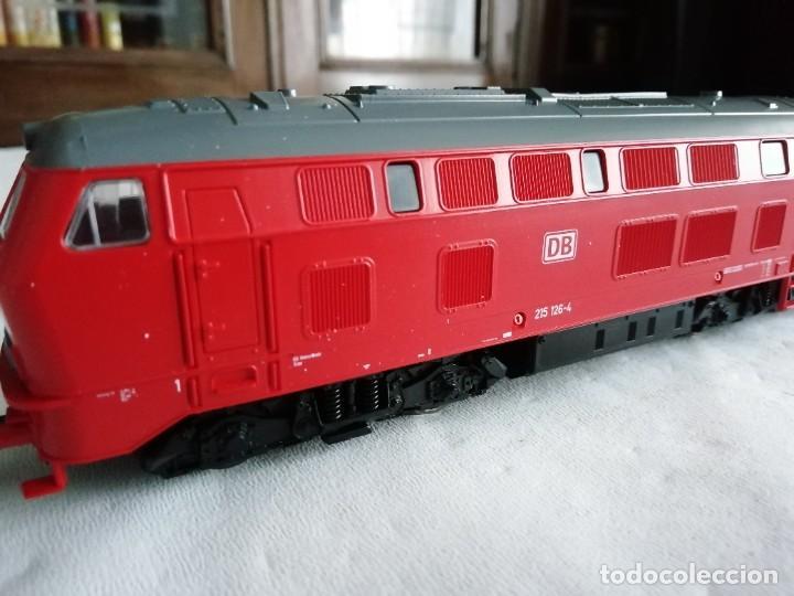 Trenes Escala: Roco H0 63490 Locomotora Diésel BR 215 126-4 DB AG Alemana Digital Nueva - Foto 7 - 208481851