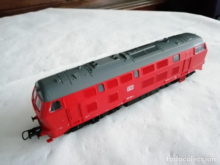 Trenes Escala: Roco H0 63490 Locomotora Diésel BR 215 126-4 DB AG Alemana Digital Nueva - Foto 8 - 208481851