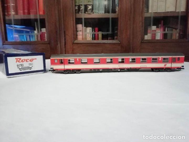 ROCO H0 64783 VAGÓN DE PASAJEROS DE 1ª Y 2ª CLASE ÖBB AUSTRIA NUEVO (Juguetes - Trenes a Escala H0 - Roco H0)