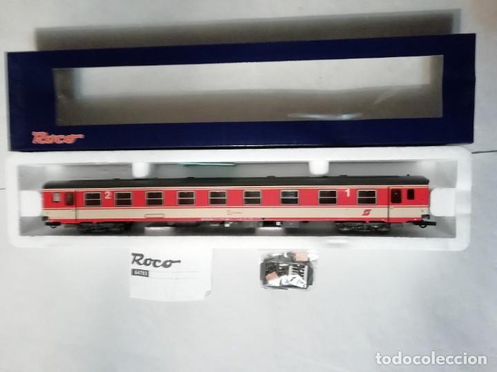 Trenes Escala: Roco H0 64783 Vagón de Pasajeros de 1ª y 2ª Clase ÖBB Austria Nuevo - Foto 2 - 208600580