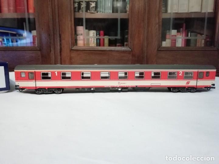 Trenes Escala: Roco H0 64783 Vagón de Pasajeros de 1ª y 2ª Clase ÖBB Austria Nuevo - Foto 3 - 208600580