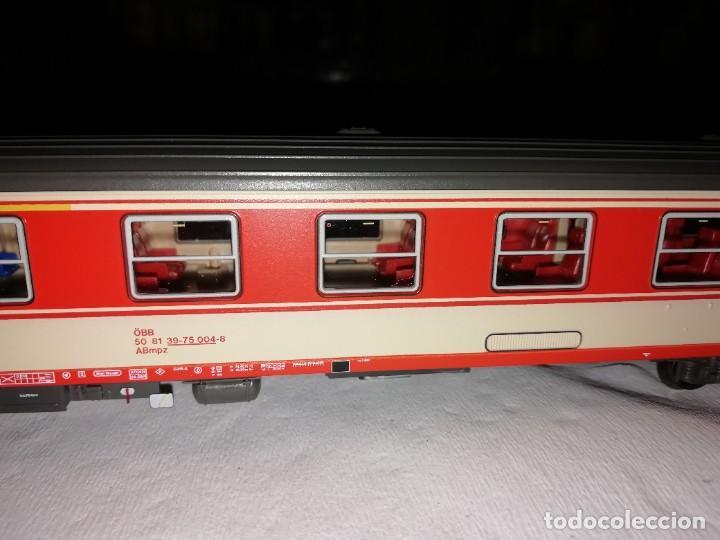 Trenes Escala: Roco H0 64783 Vagón de Pasajeros de 1ª y 2ª Clase ÖBB Austria Nuevo - Foto 5 - 208600580