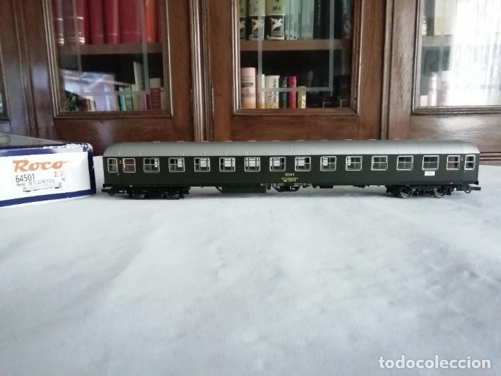ROCO H0 64501 VAGÓN EXPRESO 2ª CLASE UIC-X RENFE NUEVO (Juguetes - Trenes a Escala H0 - Roco H0)