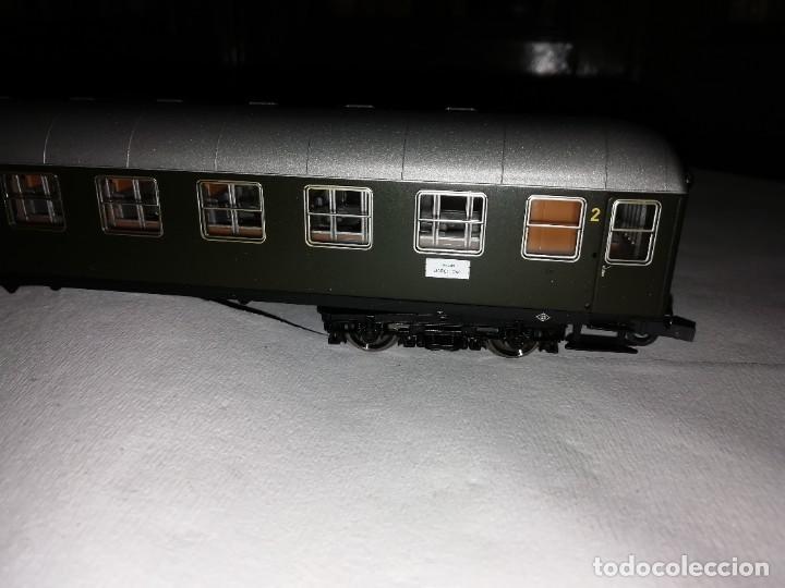 Trenes Escala: Roco H0 64501 Vagón Expreso 2ª Clase UIC-X Renfe Nuevo - Foto 4 - 208655900