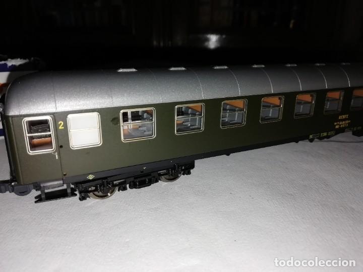 Trenes Escala: Roco H0 64501 Vagón Expreso 2ª Clase UIC-X Renfe Nuevo - Foto 5 - 208655900