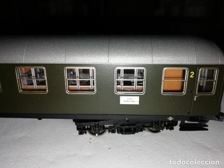 Trenes Escala: Roco H0 64501 Vagón Expreso 2ª Clase UIC-X Renfe Nuevo - Foto 8 - 208655900