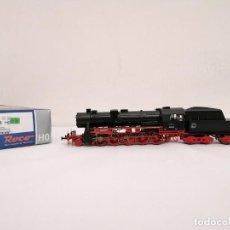 Trenes Escala: ROCO H0 62282 LOCOMOTORA DE VAPOR BR 52 2158 DB ALEMANA DIGITAL NUEVA. Lote 208655965