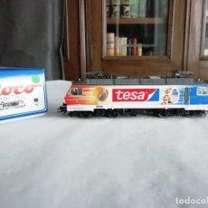 Trenes Escala: ROCO H0 63525 LOCOMOTORA ELÉCTRICA 446 447-5 TESA SÖB DIGITAL NUEVA. Lote 208656196