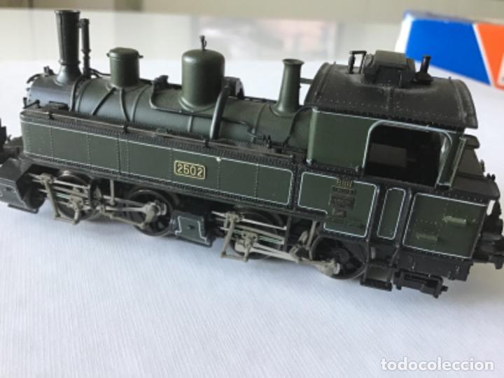 Trenes Escala: Locomotora H0 Roco vapor verde. Única en todocoleccion. De vitrina - Foto 2 - 210144003