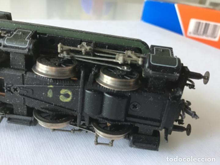 Trenes Escala: Locomotora H0 Roco vapor verde. Única en todocoleccion. De vitrina - Foto 4 - 210144003
