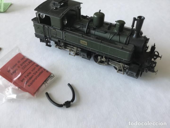 Trenes Escala: Locomotora H0 Roco vapor verde. Única en todocoleccion. De vitrina - Foto 5 - 210144003