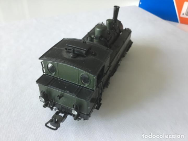 Trenes Escala: Locomotora H0 Roco vapor verde. Única en todocoleccion. De vitrina - Foto 6 - 210144003