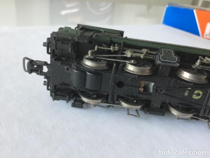 Trenes Escala: Locomotora H0 Roco vapor verde. Única en todocoleccion. De vitrina - Foto 8 - 210144003