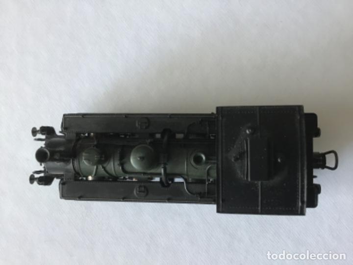 Trenes Escala: Locomotora H0 Roco vapor verde. Única en todocoleccion. De vitrina - Foto 10 - 210144003