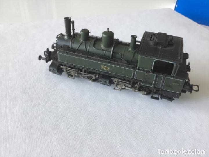 Trenes Escala: Locomotora H0 Roco vapor verde. Única en todocoleccion. De vitrina - Foto 11 - 210144003