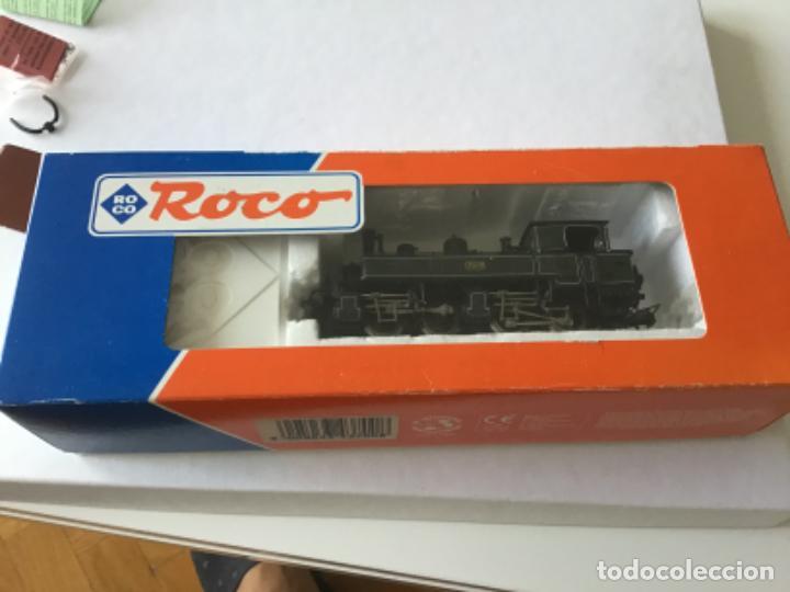 Trenes Escala: Locomotora H0 Roco vapor verde. Única en todocoleccion. De vitrina - Foto 12 - 210144003