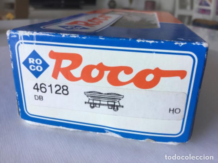 Trenes Escala: H0 Roco Vagón tolva ref 46128. Sin uso, de vitrina - Foto 11 - 210237586